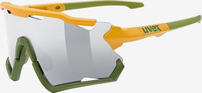 UVEX Sports Glasses in Yellow / Grey / Grass green, Item view