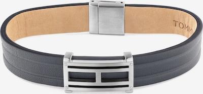 TOMMY HILFIGER Armband in schwarz / silber, Produktansicht