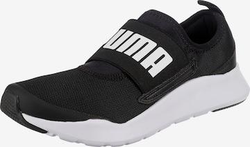 PUMA Slip-Ons in Black