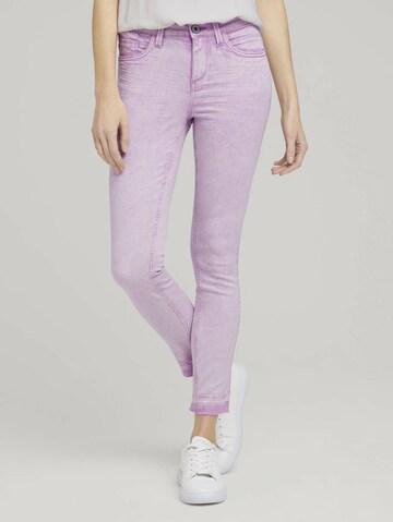 TOM TAILOR Jeans in Lila