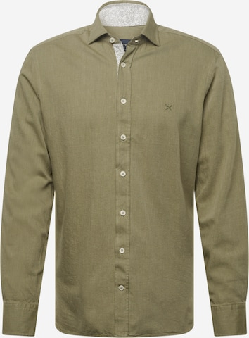 zaļš Hackett London Krekls