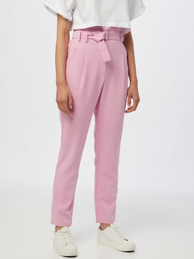 Pimkie Pantalon à pince 'PINCETTE' en rose clair, Vue avec modèle