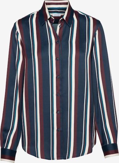 SEIDENSTICKER Bluse ' Schwarze Rose ' in blau / rot / weiß, Produktansicht