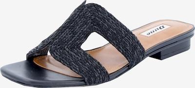Dune LONDON Pantofle 'LOUPE' - černá, Produkt