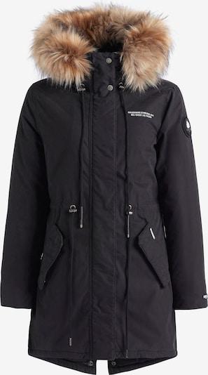 khujo Mantel ' KENITA4 ' in schwarz, Produktansicht
