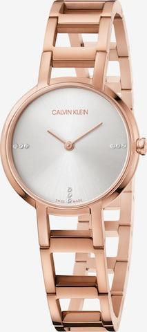 Calvin Klein Analog Watch in Gold
