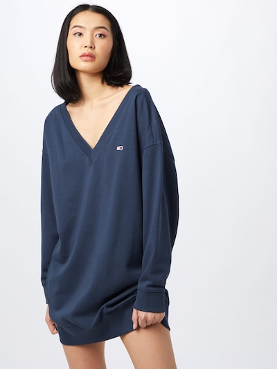 Tommy Jeans Dress in marine: Frontal view