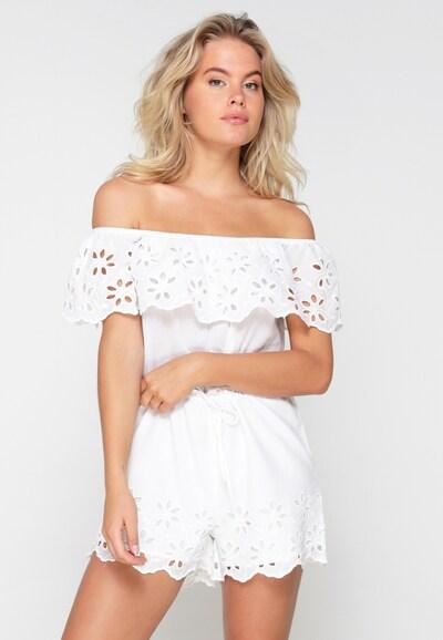 LingaDore Jumpsuit in weiß, Modelansicht