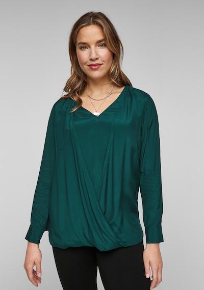 TRIANGLE Blusenshirt in grün, Modelansicht