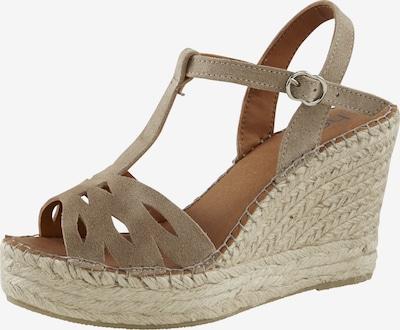 heine Sandale in beige, Produktansicht