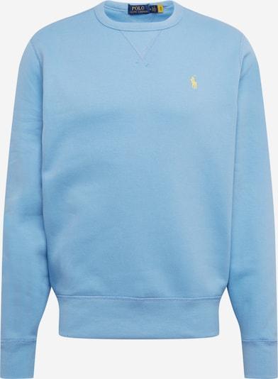 POLO RALPH LAUREN Sweatshirt in de kleur Lichtblauw / Geel, Productweergave