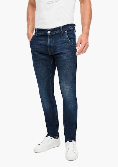 Q/S designed by Jeans 'Liam' in dunkelblau, Modelansicht