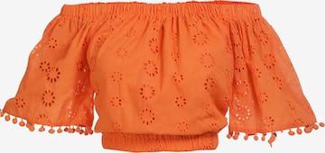 IZIA Bluse in Orange