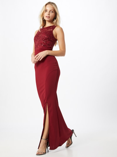 Lipsy Kleid in beere, Modelansicht