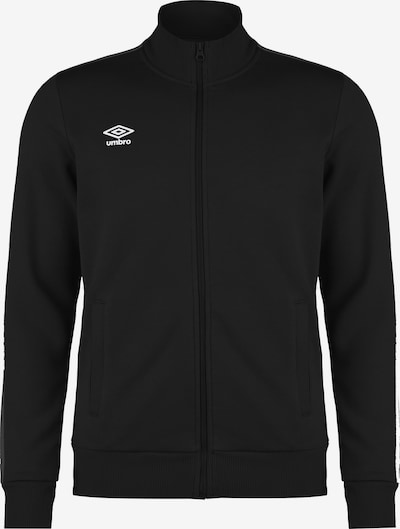UMBRO Sweatjacke in schwarz, Produktansicht