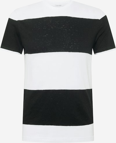 Tricou Calvin Klein pe negru / alb, Vizualizare produs