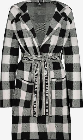 monari Knitted Coat in Black / White, Item view