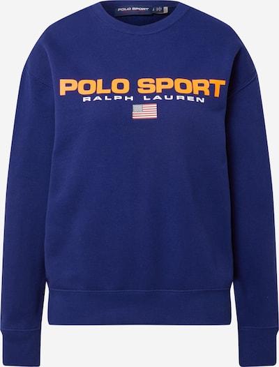 POLO RALPH LAUREN Sweatshirt in marine / orange / grenadine / weiß, Produktansicht