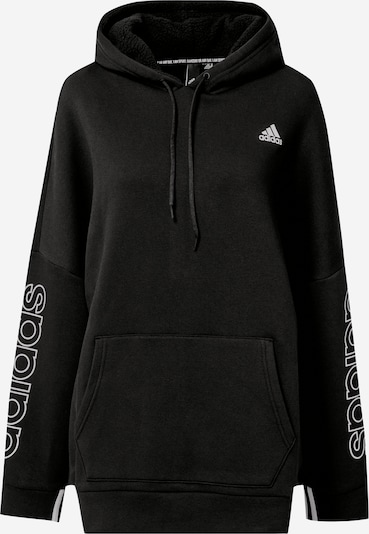 ADIDAS PERFORMANCE Sweatshirt 'Big Bos' in schwarz / weiß, Produktansicht