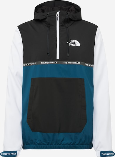 THE NORTH FACE Outdoorjas in de kleur Hemelsblauw / Zwart / Wit, Productweergave