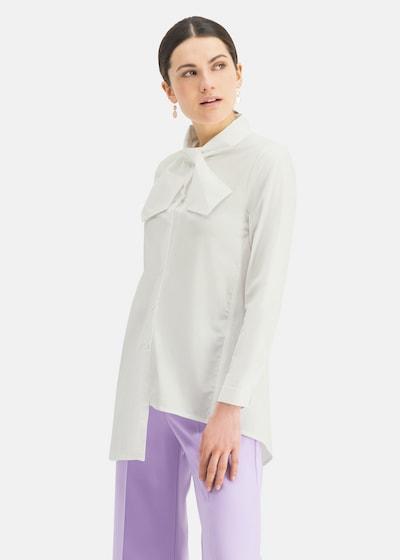 Nicowa Bluse  'NIBOWA' in weiß, Modelansicht