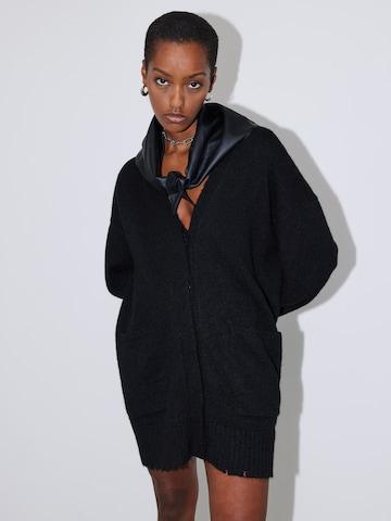 LeGer by Lena Gercke Oversized Cardigan 'Sheila' in Black