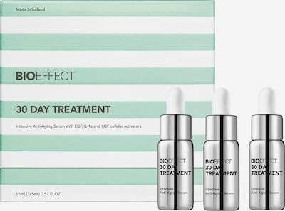 BioEffect Serum '30 Day Treatment' in schwarz / silber, Produktansicht