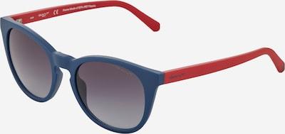 GANT Sonnenbrille in navy / grau / pastellrot, Produktansicht