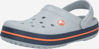 Crocs Pantolette 'Crocband' in navy / hellgrau, Produktansicht