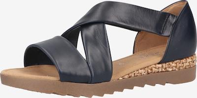 GABOR Sandale in marine, Produktansicht