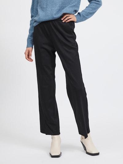 VILA Pants 'Amerone' in Black, View model