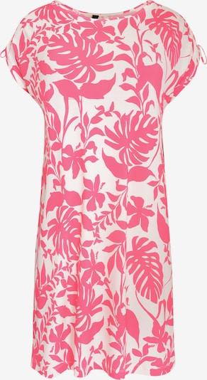 Yoek Robe 'Selva' en rose / blanc, Vue avec produit