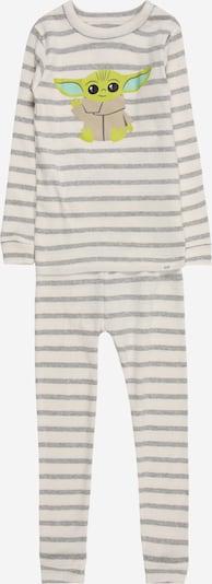GAP Piżama w kolorze jasny beż / nakrapiany szary / jasnozielony / białym, Podgląd produktu