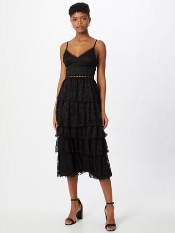 Skirt & Stiletto Kokteilové šaty - Čierna
