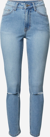 VIERVIER Jeans 'Isabell' in blue denim: Frontalansicht