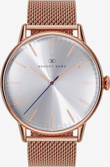 August Berg Uhr 'Serenity Simply 40mm' in rosé / silber, Produktansicht