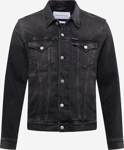 Calvin Klein Jeans Jacke in black denim, Produktansicht