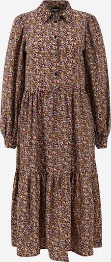 Abito camicia 'ANJA' Pieces (Tall) di colore marrone / senape / lilla / nero / bianco, Visualizzazione prodotti