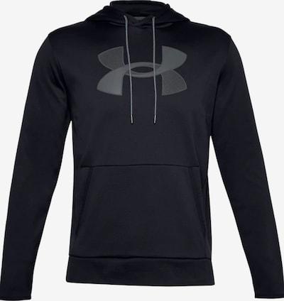 UNDER ARMOUR Sweat de sport en gris / noir, Vue avec produit