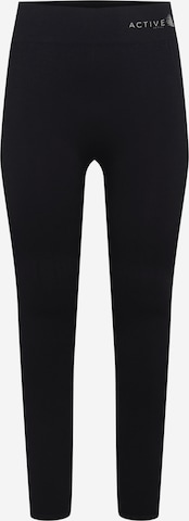 Active by Zizzi Workout Pants 'AHEMAY' in Black