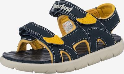 TIMBERLAND Sandale in dunkelblau / limone / hellgrau, Produktansicht