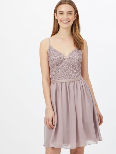 Laona Kleid in altrosa, Modelansicht
