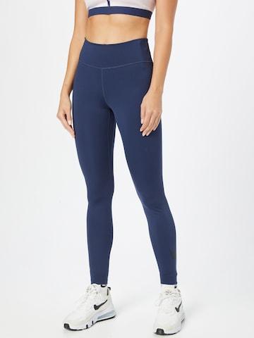 mėlyna NIKE Sportinės kelnės