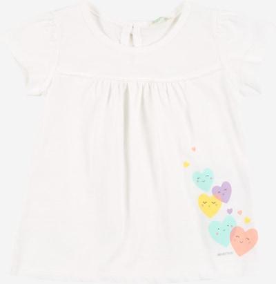 UNITED COLORS OF BENETTON Camiseta en mezcla de colores / blanco, Vista del producto