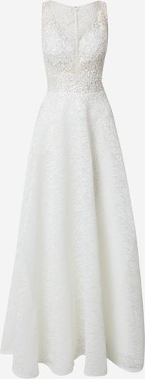 Rochie de seară mascara pe alb murdar, Vizualizare produs