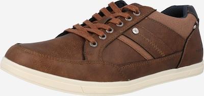 TOM TAILOR Sneaker in navy / brokat, Produktansicht
