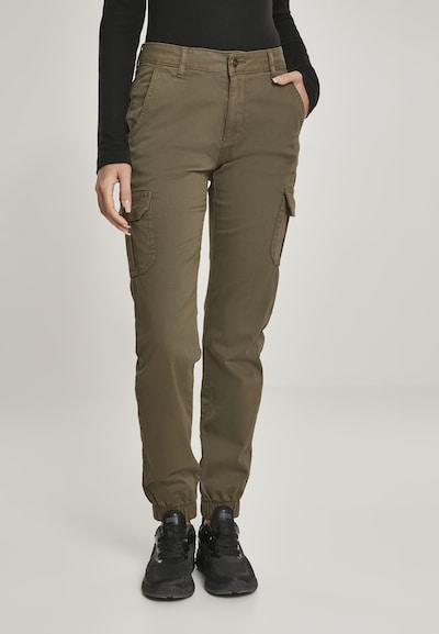 Urban Classics Cargo hlače u maslinasta, Prikaz modela