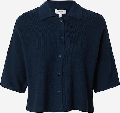 Geacă tricotată 'DARMA' OBJECT (Petite) pe albastru închis, Vizualizare produs