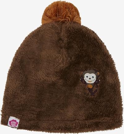 Affenzahn Kindermütze in braun, Produktansicht