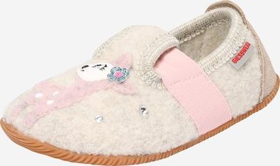 Naminės šlepetės 'Sande' iš GIESSWEIN , spalva - smėlio / rožinė / rožių spalva, Prekių apžvalga